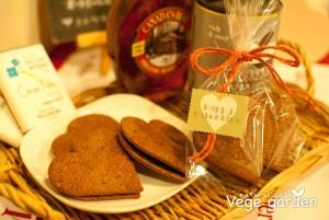 2013バレンタイン限定米粉サンドクッキー