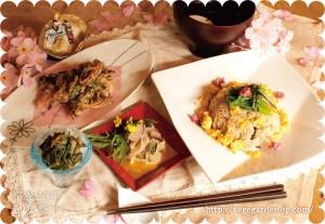 2013年マクロビひな祭り御膳(限定メニュー)
